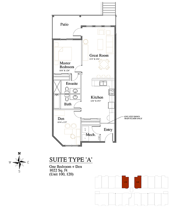 Brownstones Suite Type A
