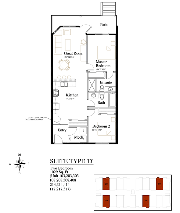 Brownstones Suite Type D